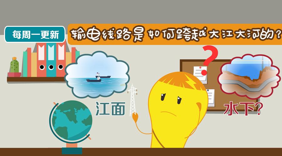 输电线路是如何跨越大江大河的?